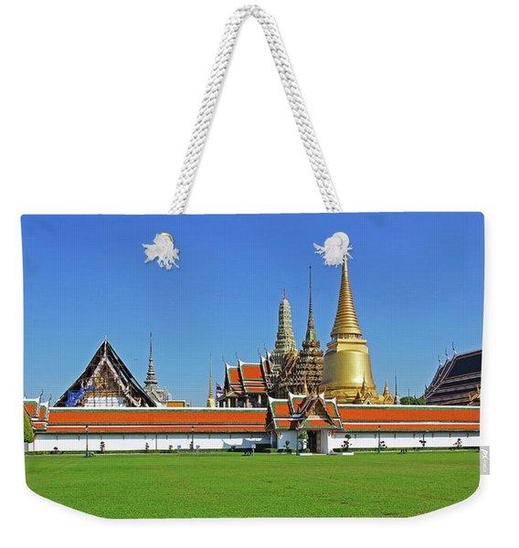 Bangkok, Thailand - Wat Phra Kaew - Temple Of The Emerald Buddha Weekender Tote Bag