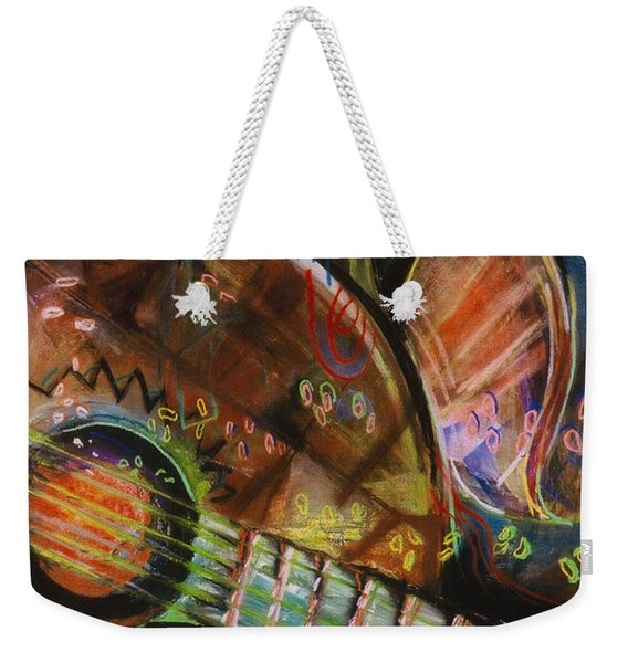 Banjos Jamming Weekender Tote Bag