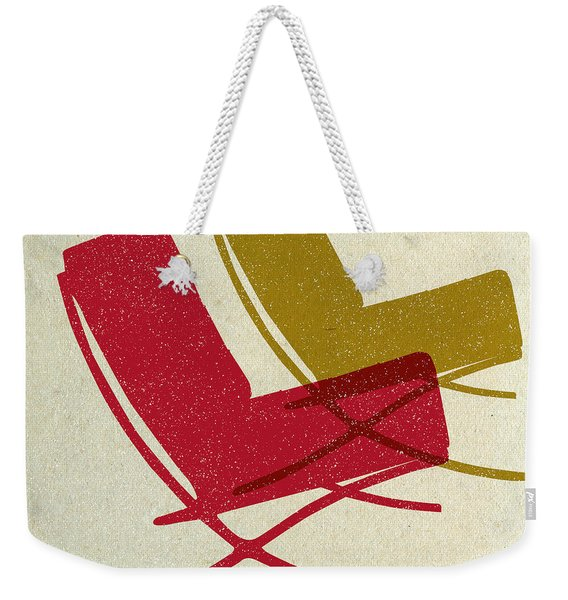 Barcelona Chairs I Weekender Tote Bag