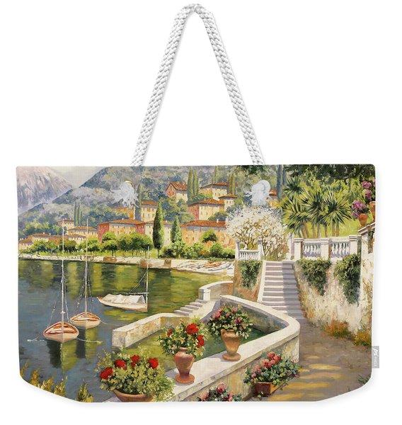 barche a Bellagio Weekender Tote Bag