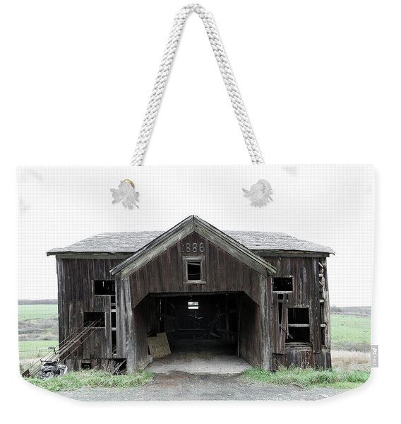 Barn 1886, Old Barn In Walton, Ny Weekender Tote Bag