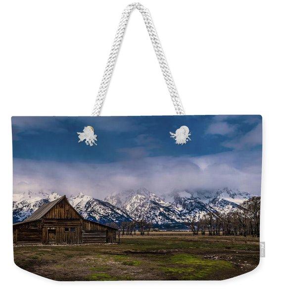 Barn At Mormon Row Weekender Tote Bag