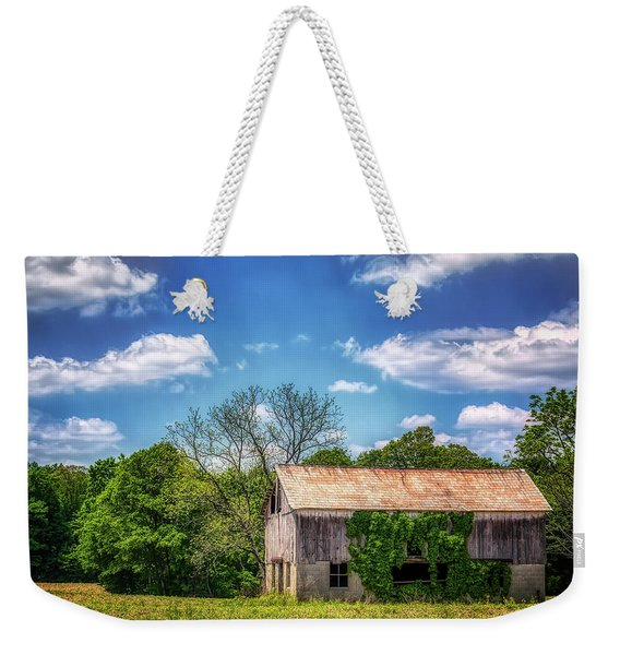 Barn With Ivy Weekender Tote Bag