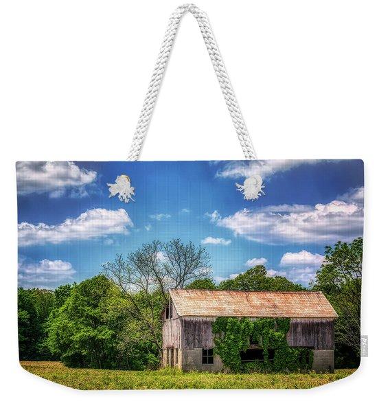 Barn With Ivy Weekender Tote Bag