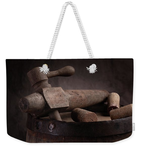 Barrel Tap With Corks Weekender Tote Bag