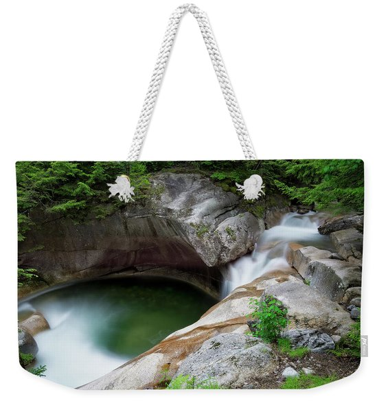Basin From Above, Nh Weekender Tote Bag