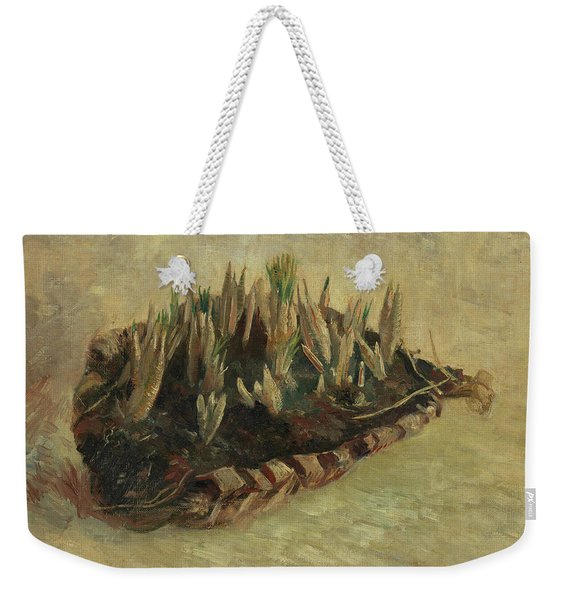 Basket Of Crocus Bulbs Weekender Tote Bag