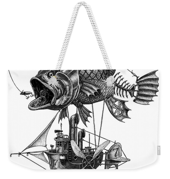Bass Airship Weekender Tote Bag