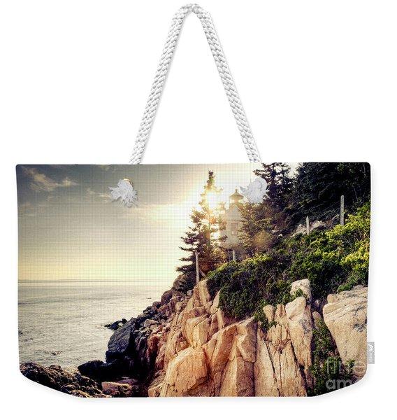 Bass Harbor Weekender Tote Bag