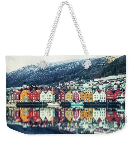 Bathed In Color Weekender Tote Bag