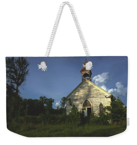 Bats In The Belltower Weekender Tote Bag