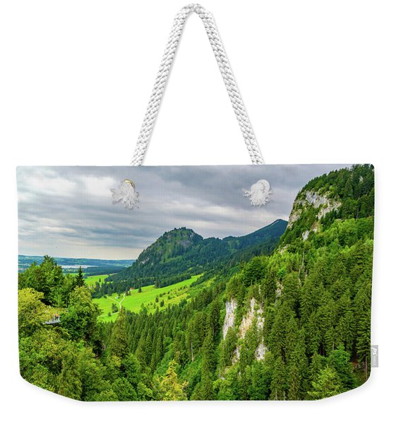 Bavarian Alps Panorama Weekender Tote Bag