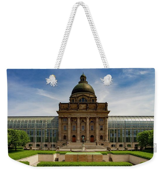 Bavarian State Chancellery, Berlin Weekender Tote Bag
