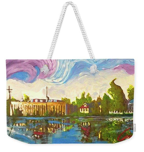 Bayou Saint John One Weekender Tote Bag
