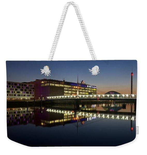 Bbc Scotland Studios Weekender Tote Bag