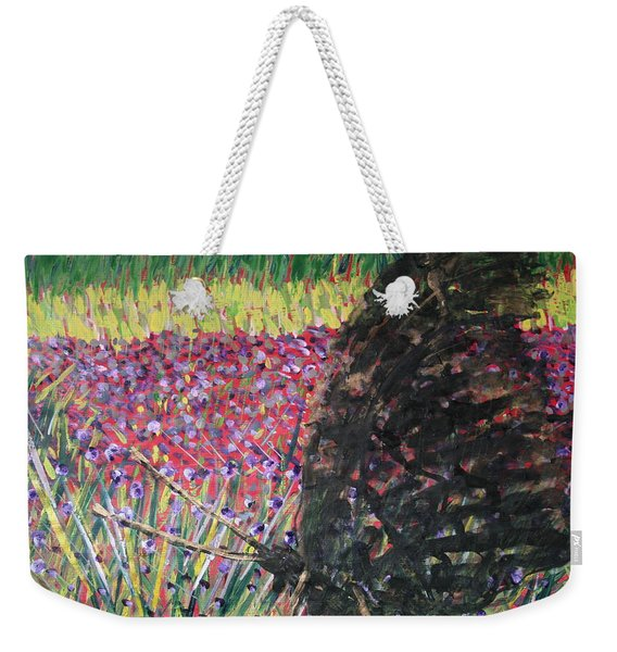 Be Careful With The Voiceless Weekender Tote Bag