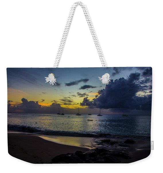 Beach At Sunset 3 Weekender Tote Bag