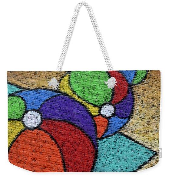 Beach Balls Three Weekender Tote Bag