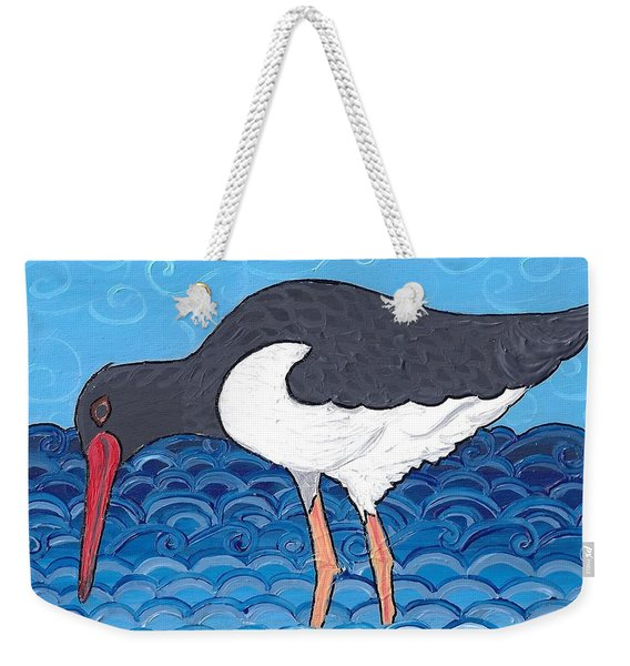 Beach Bird 4 Weekender Tote Bag