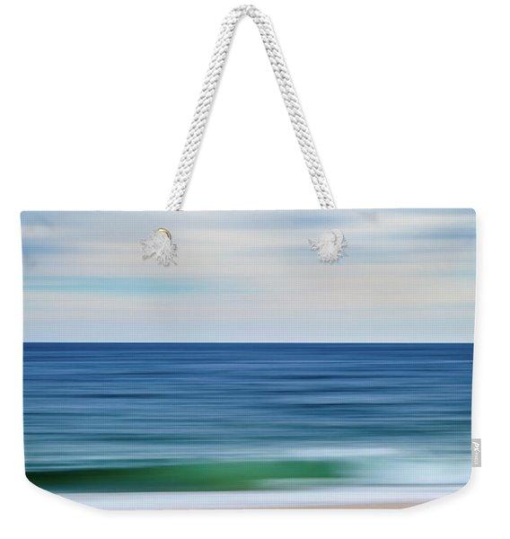 Beach Blur Weekender Tote Bag