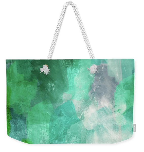 Beach Glass 3- Art By Linda Woods Weekender Tote Bag