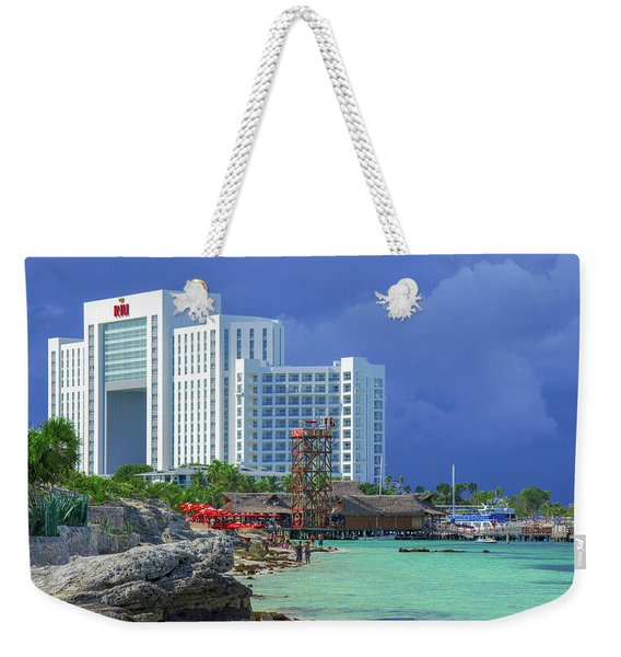 Beach Life In Cancun Weekender Tote Bag