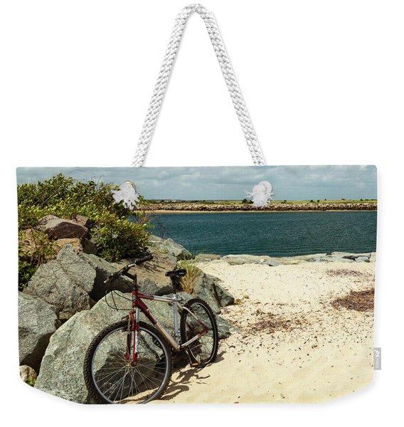 Beach Ride Weekender Tote Bag