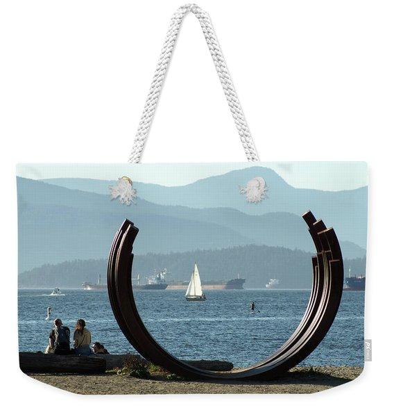 Beach Scene Serenity II Weekender Tote Bag