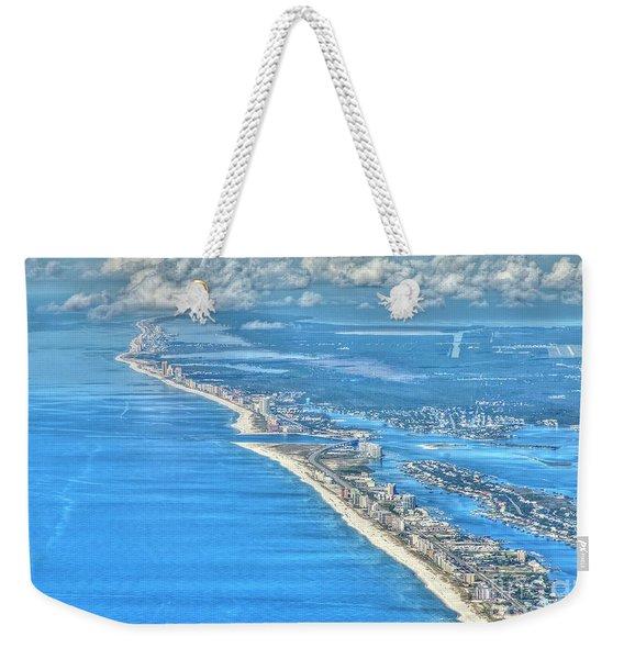 Beachmiles-5137-tonemapped Weekender Tote Bag