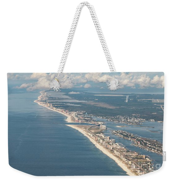 Beachmiles-natural-5137 Weekender Tote Bag