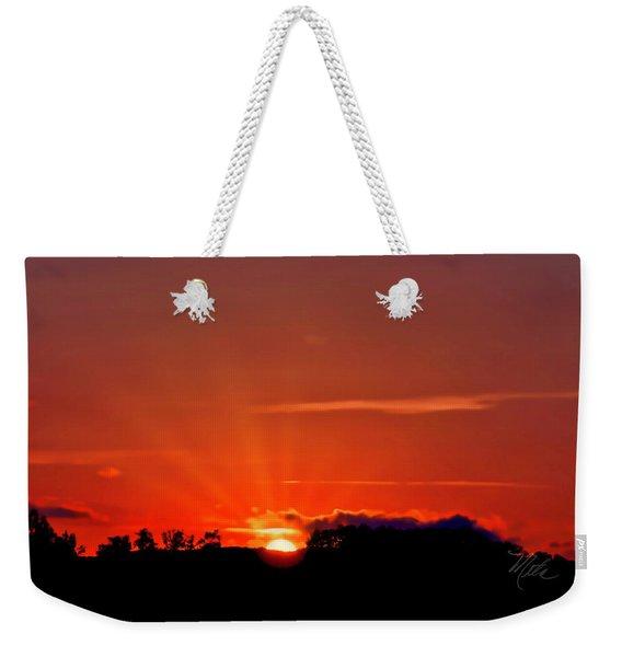 Beacon Heights Sunrise Weekender Tote Bag