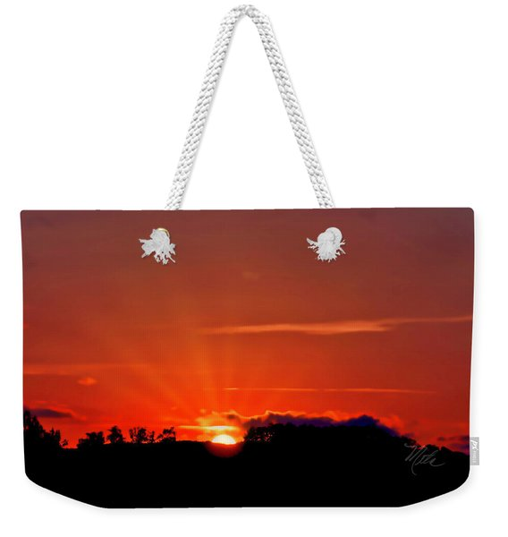 Beacon Heights Sunrise Weekender Tote Bag