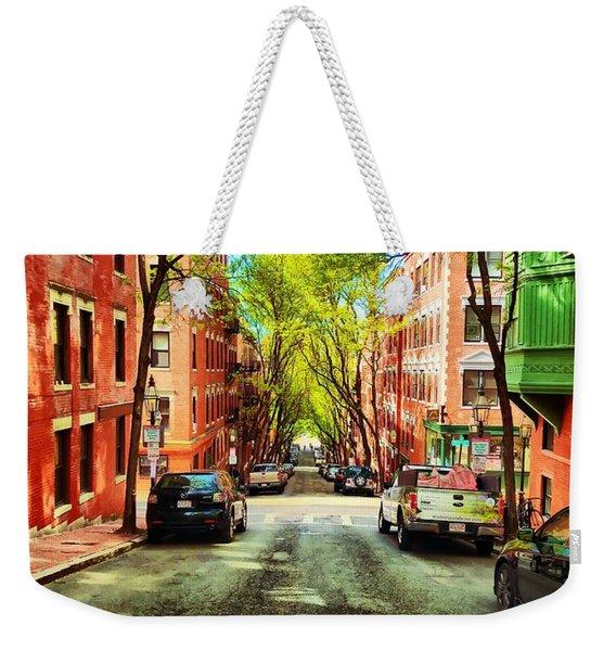 Beacon Hill Weekender Tote Bag