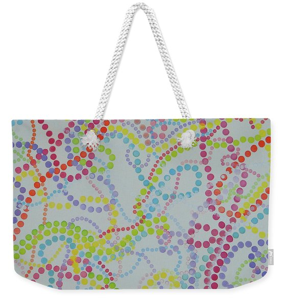 Beads And Pearls - Happy Day Weekender Tote Bag