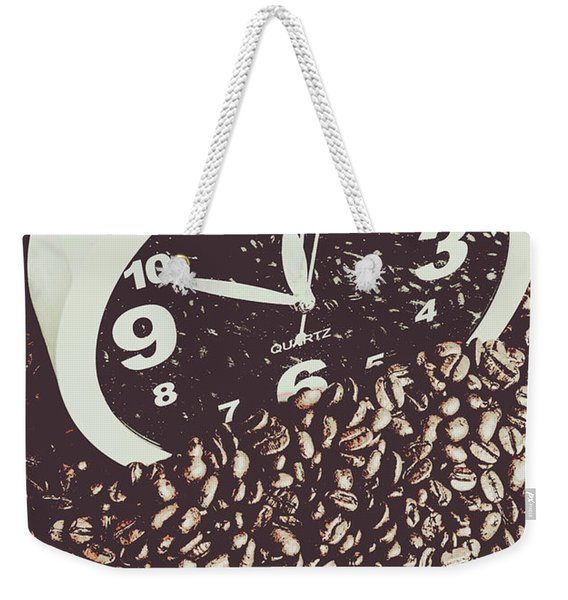 Bean Break Weekender Tote Bag