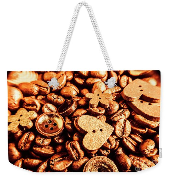 Beans And Buttons Weekender Tote Bag