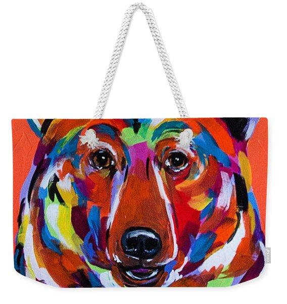 Bear Delight Weekender Tote Bag