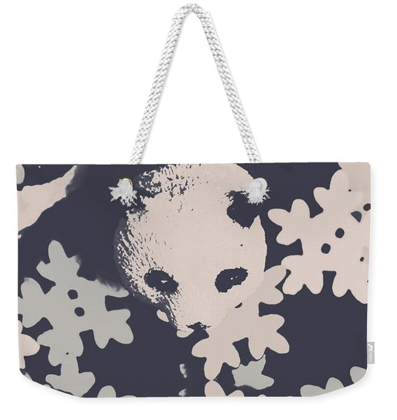 Bearing Winter Weekender Tote Bag
