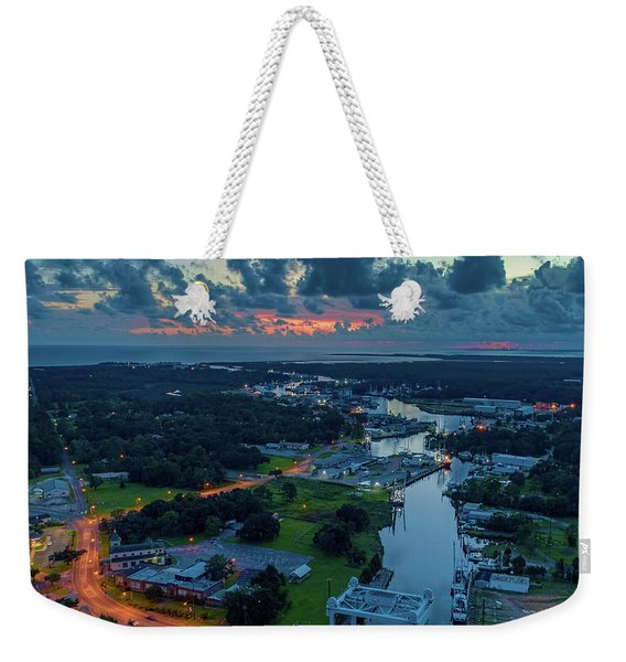 Beautiful Bayou Sky At Dusk Weekender Tote Bag