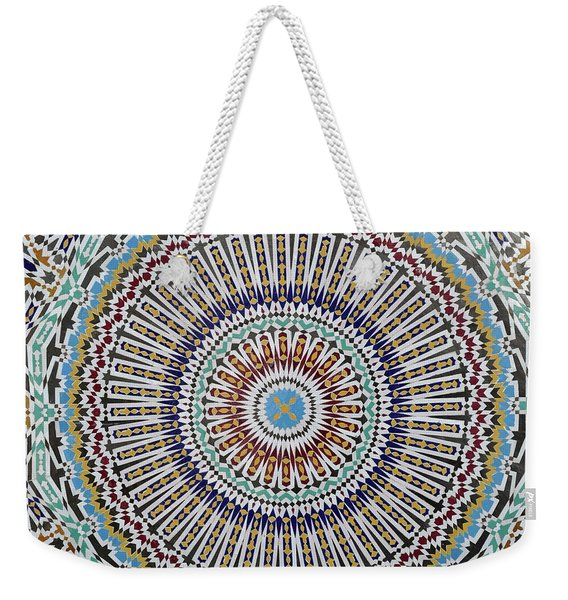 Beautiful Infinity Desgn Mosaic Fountain Weekender Tote Bag