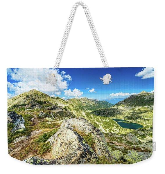 Beautiful Landscape Of Pirin Mountain Weekender Tote Bag
