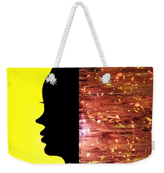 Beauty As The Night Weekender Tote Bag