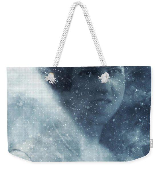 Beauty In The Snow Weekender Tote Bag
