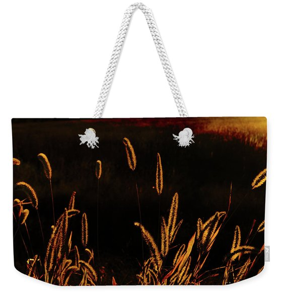 Beauty In Weeds Weekender Tote Bag