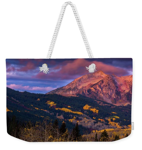 Beckwith At Sunrise Weekender Tote Bag