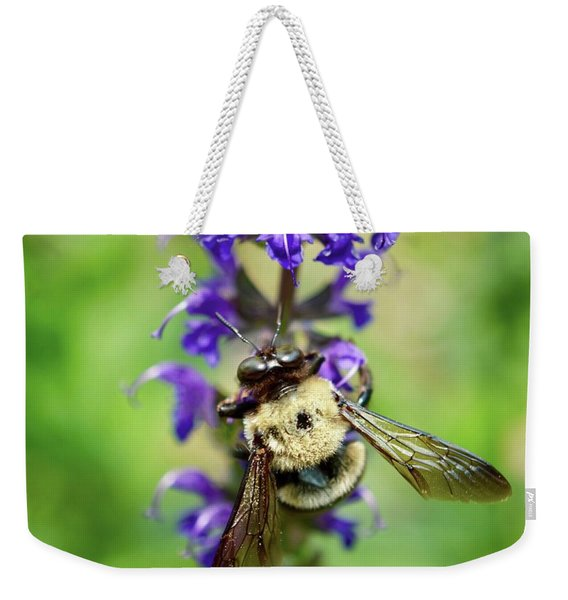 Bee Free Weekender Tote Bag