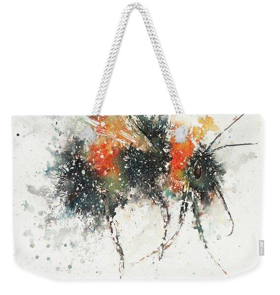 Bee Study Weekender Tote Bag