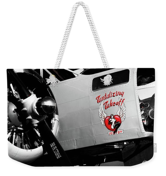 Beech At-11 In Selective Color Weekender Tote Bag