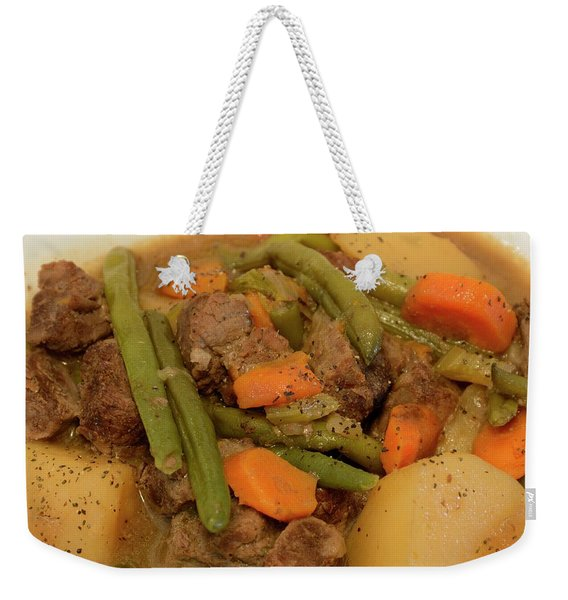 Beef Stew Serving Weekender Tote Bag