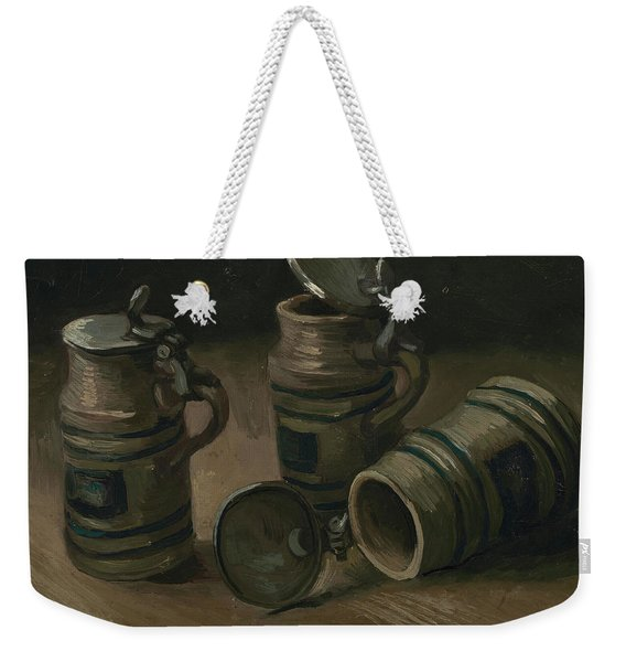 Beer Tankards Weekender Tote Bag